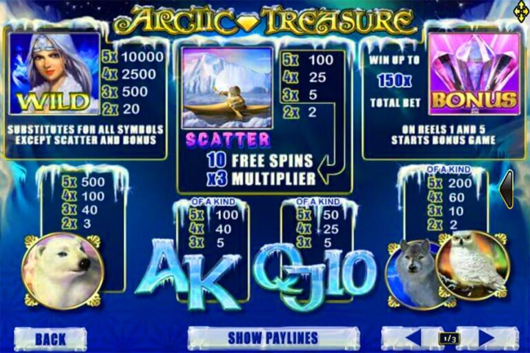 Arctic Treasure 1