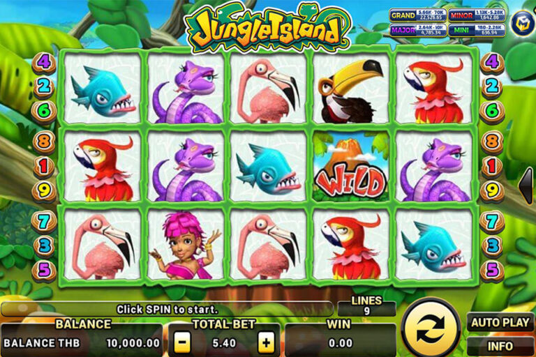 Jungle Island Playline