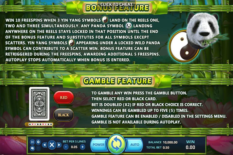 Wild Giant Panda Bonus
