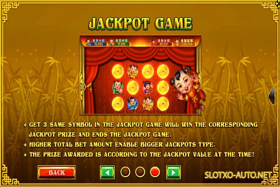 lucky panda jackpot game slotxo