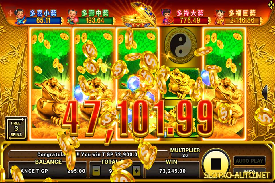 lucky panda slot online megawin