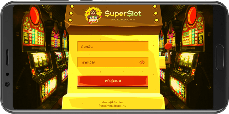 superslot slot online login mobile for android ios or pc