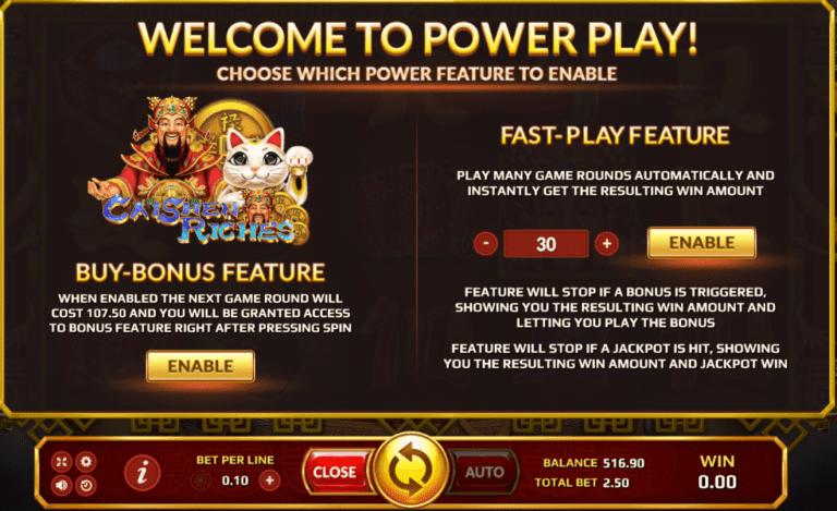แนะนำขั้นตอนการซื้อ Fast Play Feature