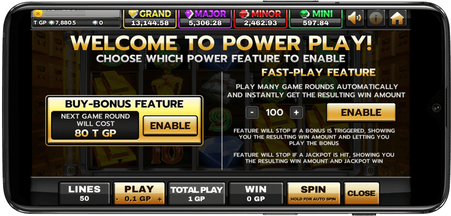 Fast Play Feature เกมสล็อต